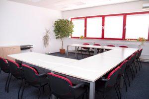ABIA - školicí místnost